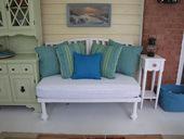 3. 最後に塗装し、ベンチの手前部分に2本の脚を取り付ければ完成。