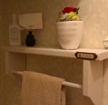 トイレのタオルハンガー
