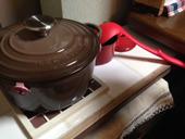 4. 出して、お鍋など置けるように