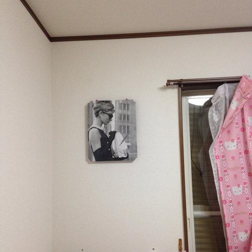 7. 一応Before。 時計と壁が馴染んで嬉しいです。
