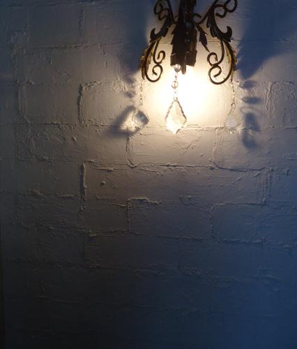 6. 色を使わずホワイトレンガも素敵。