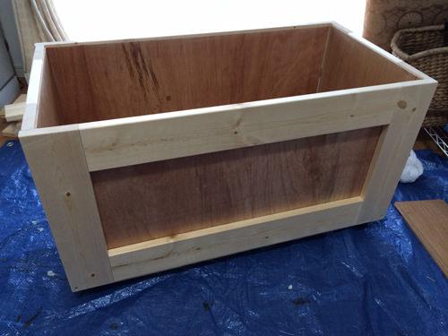 7. 長方形BOXを1つ制作します。