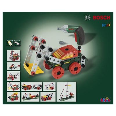 【BOSCH】おもちゃのくるま組み立てセットと電動ドライバー
