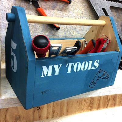 ほとんど毎日開催中!<br>ツールボックスなど色々な物を作れる