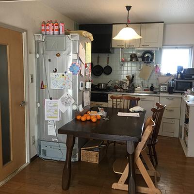 ごちゃついたキッチン、DIYで何とかしたい〜!